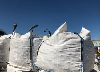 3 white bags